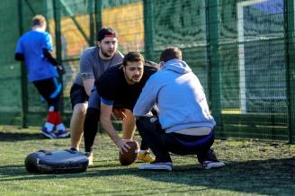 american football training