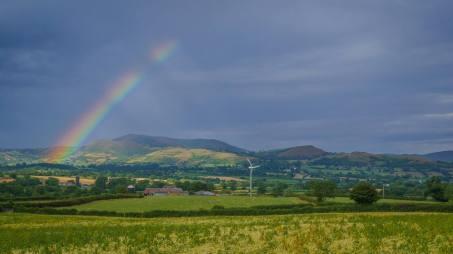 Rainbow over Churchstoke
