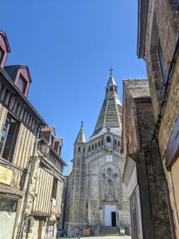 Medieval quarter looking towards St. Julien