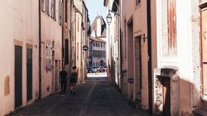 Burgundy Street, Travel Photo